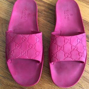 Gucci Rubber Slides